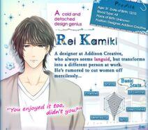 Rei Kamiki Profile