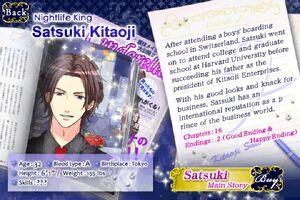 Satsuki Kitaoji - Profile