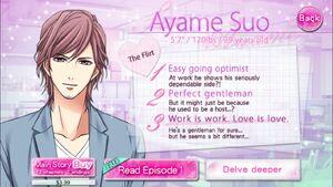 Ayame Suo - Profile