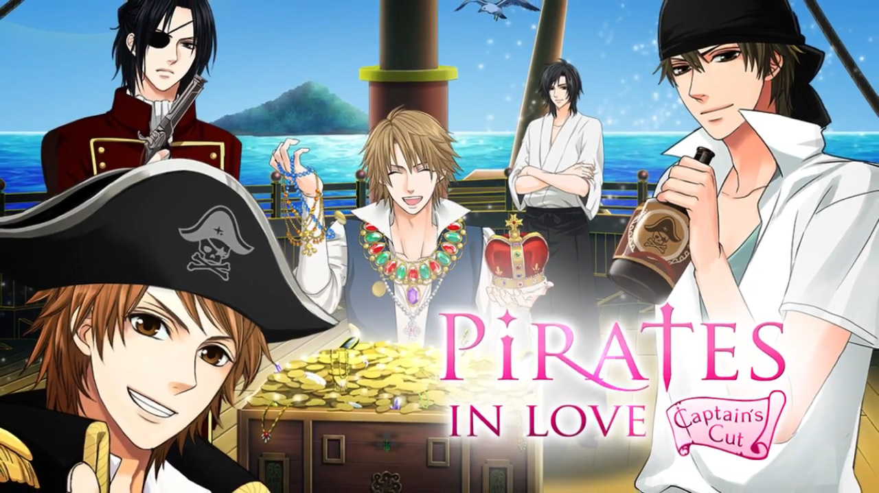 Pirates in love captains cut