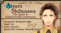 Atsuro Shibusawa - Profile