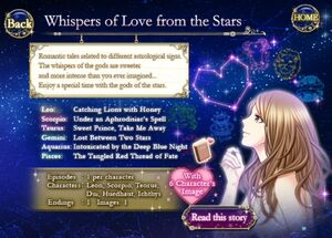 Whispers of Love - Title