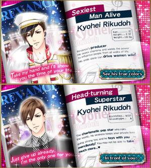 Kyohei Rikudoh - Profiles