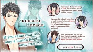 Sanosuke Harada - Profile