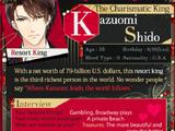 Kazuomi Shido/Character