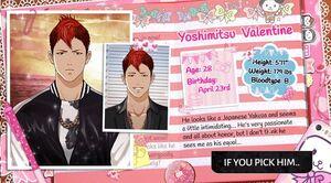 Yoshimitsu Valentine-Gangsters in Love