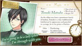 Tomoki Matsuba character description (1)
