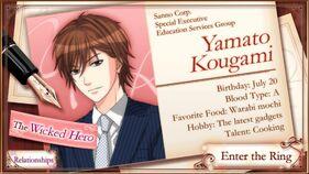 Yamato Kougami (MWa7R) character description (1)