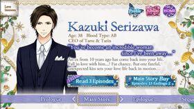 Kazuki Serizawa character description (1)