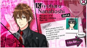 Kiyoharu Nanahoshi character description (1)