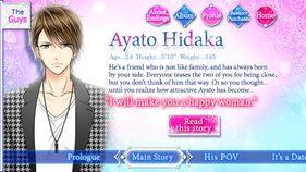 Ayato Hidaka character description (1)