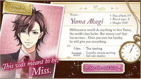 Yuma Akagi character description (1)