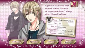 Takuto Hirukawa character description (1)