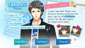 Takeshi Yuno character description (1)