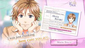 Shota Kurumi character description (1)
