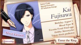 Kai Fujisawa character description (1)