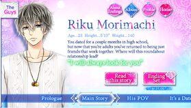 Riku Morimachi character description (1)
