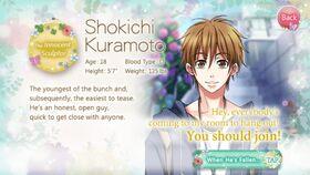 Shokichi Kuramoto character description (1)