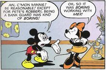 Miki i mini u stripu