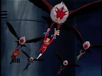 Screen-vulture hang gliding