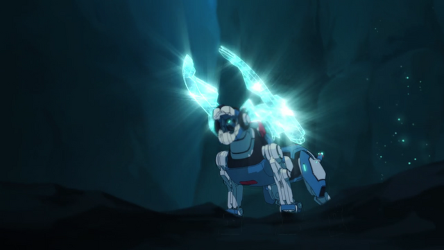 File:S2E02.359. Blue Lion summoning sonic weapon.png