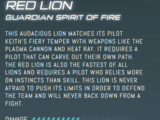 Red Lion (Legendary Defender)/Gallery