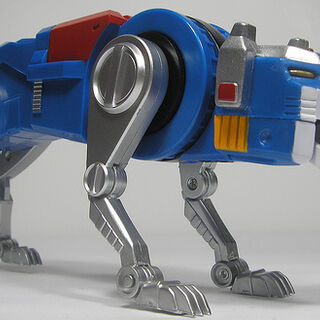 Blue Lion toy