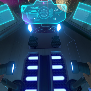 The [[Blue Lion (Legendary Defender)|Blue Lion's cockpit.