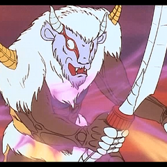 ...so Voltron fires his flamethrowers....