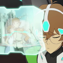 Pidge thinks of her brother.