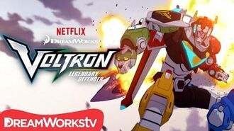 Forming a Legend DREAMWORKS VOLTRON LEGENDARY DEFENDER