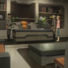 Admiral Sanda's office.