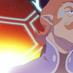 The moment Coran realizes he's all alone in the Castle...