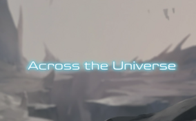 Voltron S2 Title Across the Universe