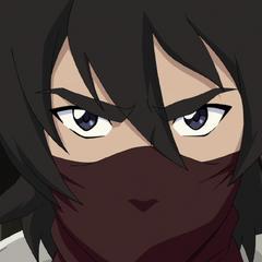 Keith thinks he's a ninja.