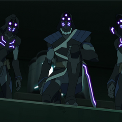 Keith, Kolivan, and Regris.