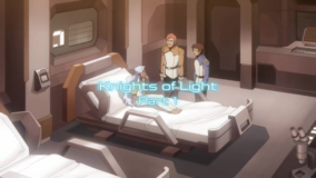 Knights of Light, Part 1 title