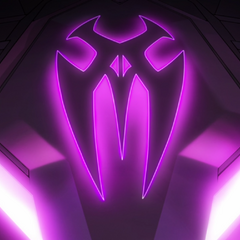 Symbol in Galra ship when Keith is trying to find Red Lion.