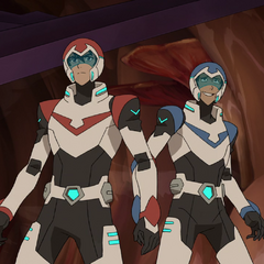 And here we see Red and Blue getting along. Hand holding, sneaking in. Just Paladin things.