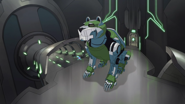 File:16. Green Lion inactive in hangar.png