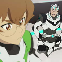 Pidge being uncomfortable of her memory exposure.