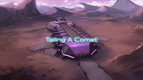 Tailing a Comet