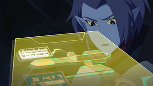 Acxa looks at her control board