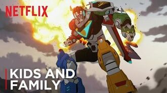 Voltron Legendary Defender Official Trailer HD Netflix