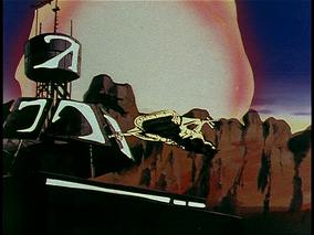 Screen-missile strikes planet achilles