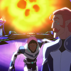 He may be a clown, but his first thought was <i>to shove Coran out of the way</i>.
