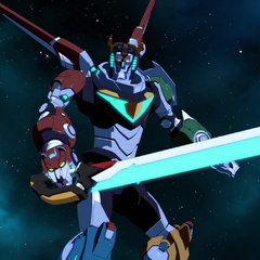 Black bayard still forms Voltron a sword when Keith's using it.