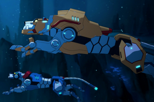 File:Blue Lion and Yellow Lion Under the Water.png