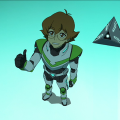 Pidge with Rover.