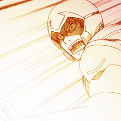 Keith is about to go Super Saiyan. Wait, what? Wrong show? Who cares, we're doing it anyway!